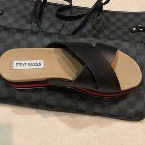 Asher platform sandal
